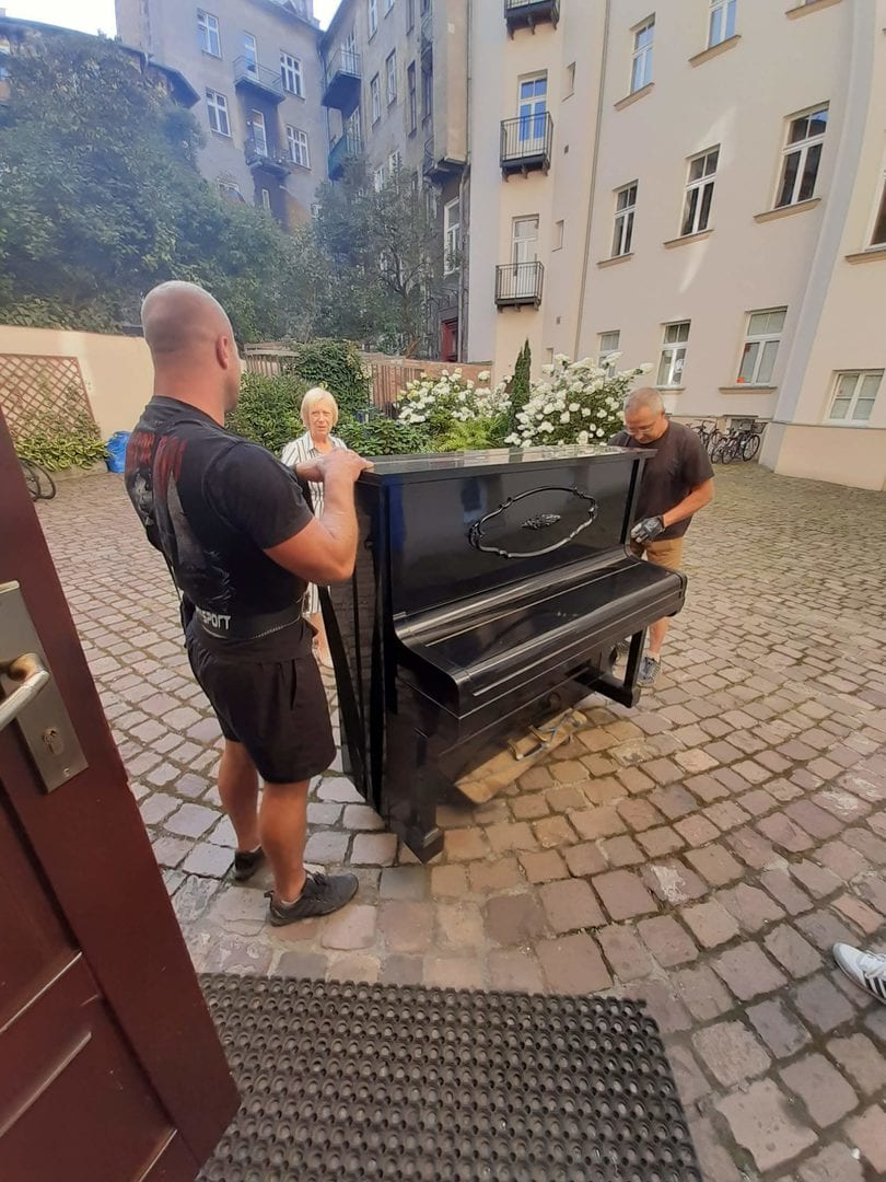 transport fortepianów
